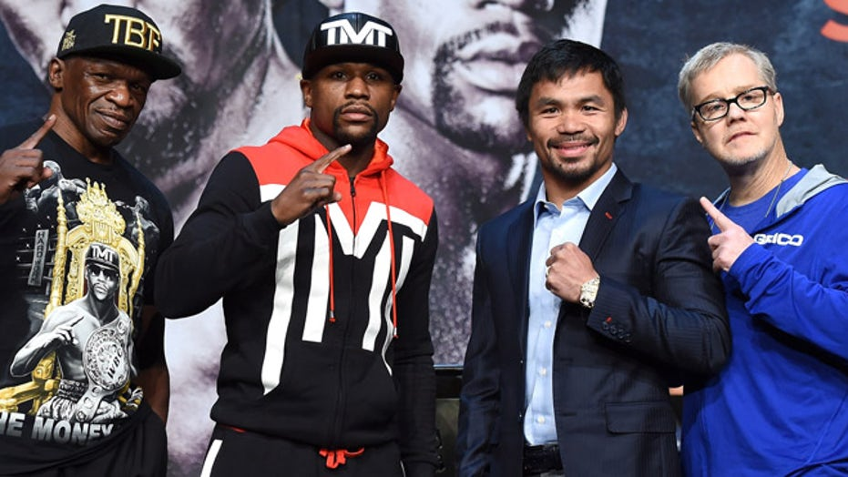 Mayweather-Pacquiao: The lead up to the most anticipated fight in years