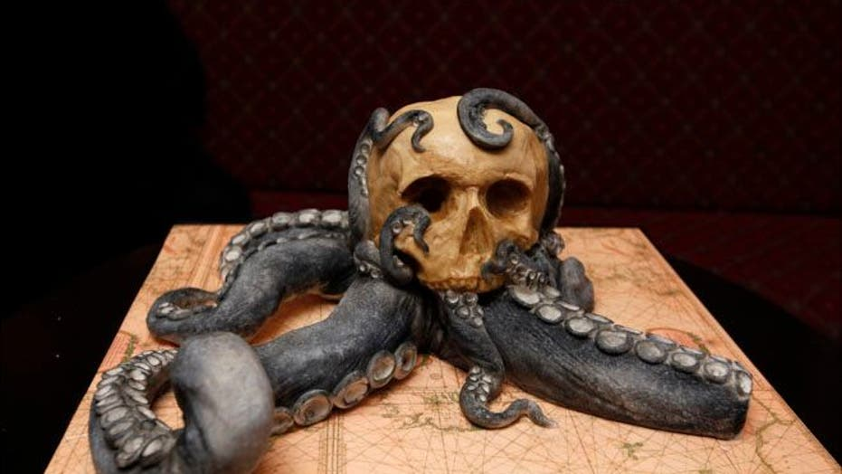 Cake curator makes edible art from your worst nightmares
