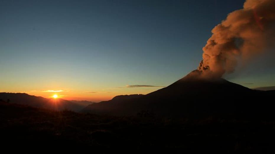 Ecuador's Tungurahua Volcano Causes Evacuations