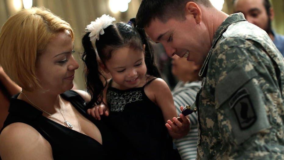 Puerto Rican Veteran Honored With Purple Heart