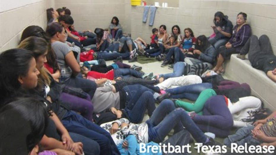 Overcrowded Conditions Of Undocumented Immigrants Held By U.S. Border Patrol