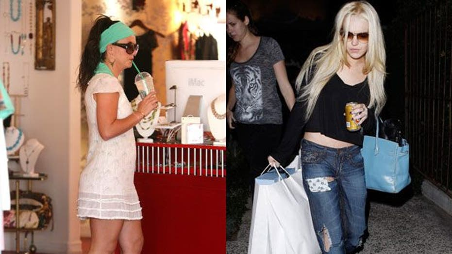 7 Reasons Why Lindsay Lohan Is the New Britney Spears