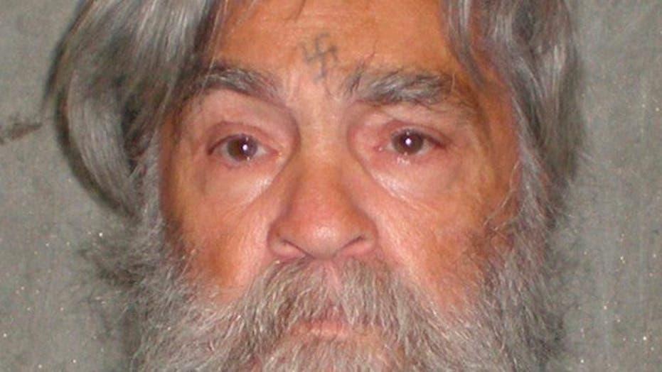 Serial killer Charles Manson
