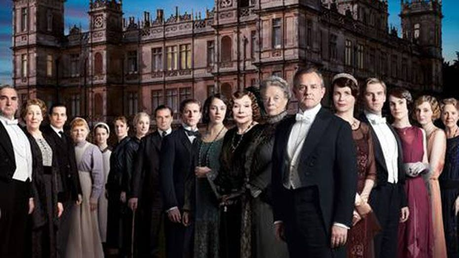 The cast of 'Downton Abbey' without the costumes