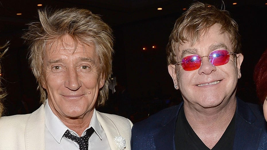 Rod Stewart accuses Elton John of snubbing his efforts to heal rift: 'Big falling out'