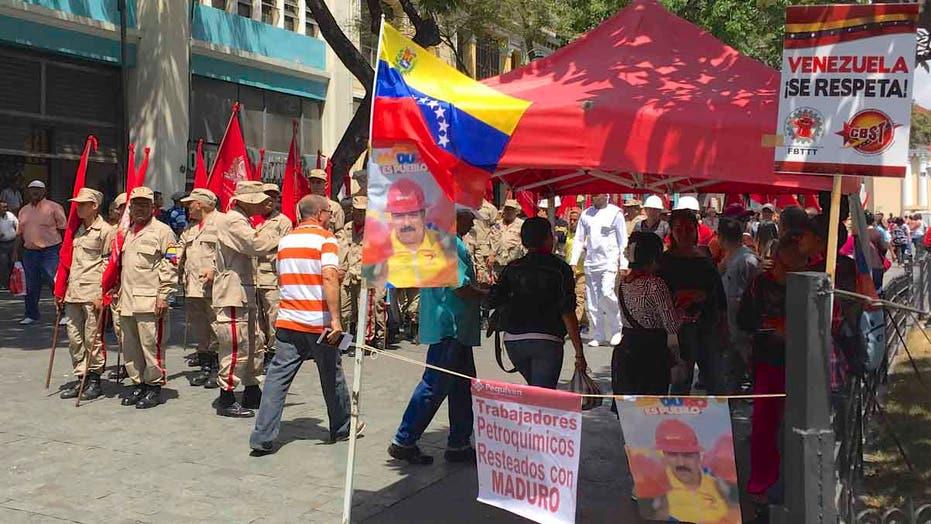 Venezuelan president launches aggressive anti-U.S. campaign