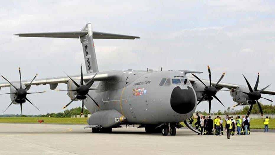 Airbus Unveils Gigantic A400M