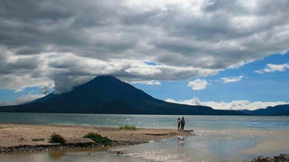 Guatemala's Lake Atitlán offers a beautiful setting to observe Mayan culture