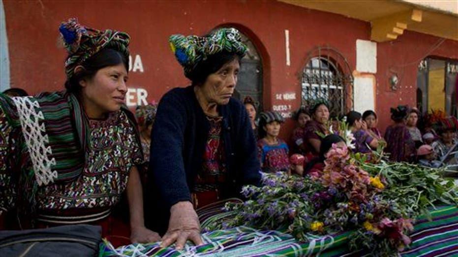 Ixil Mayans Killed During Guatemala Civil War Laid To Rest