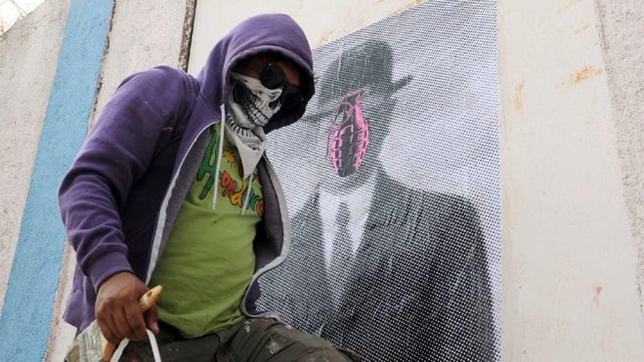 Graffiti Artist Battles Violence in Honduras