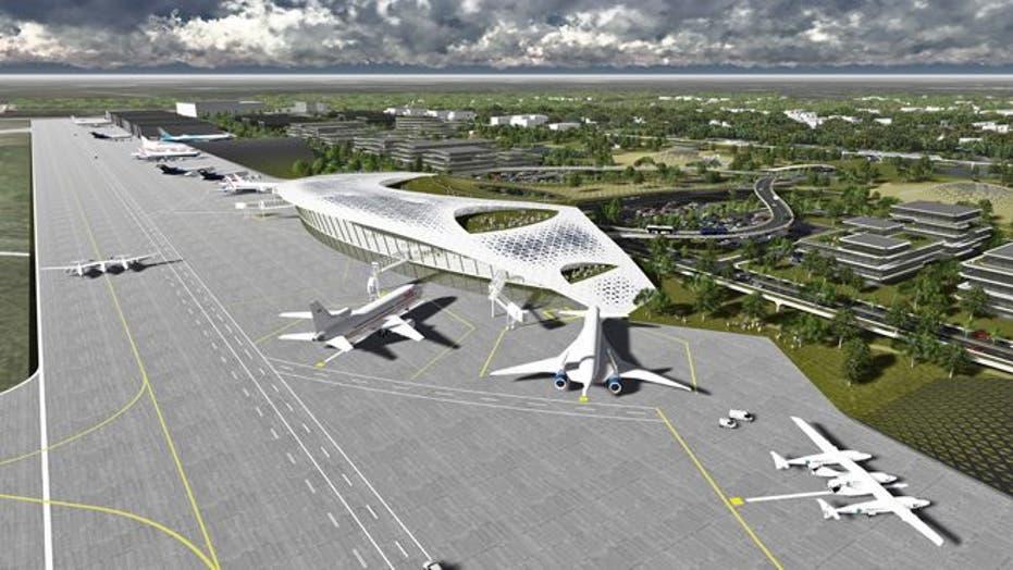 Houston Proposes New Spaceport