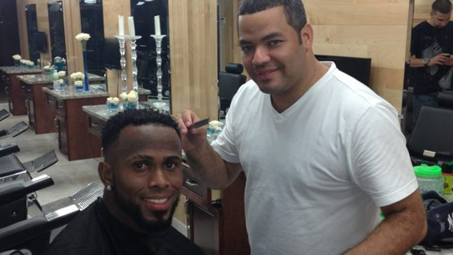 Dominican Barber is Famous Among MLB Stars
