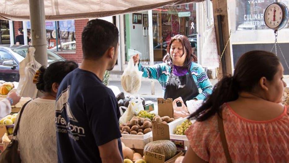 Rocky Balboa's Italian Market has gone Mexican