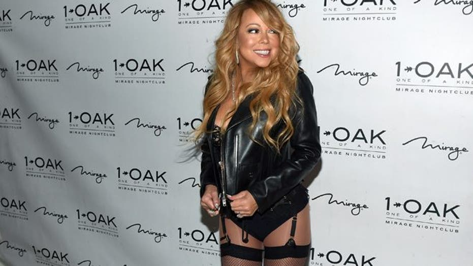 Mariah Carey hits the town wearing … not very much