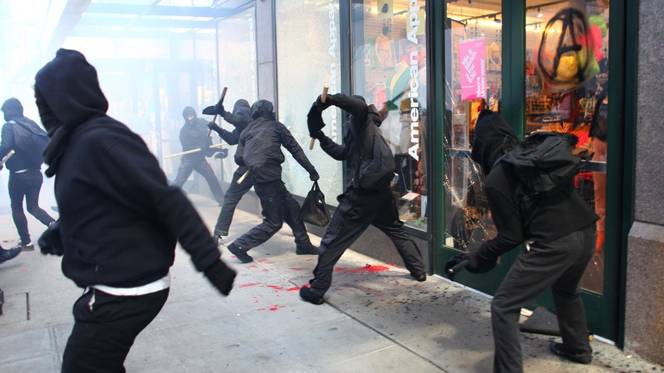 May Day protests turn violent in Seattle