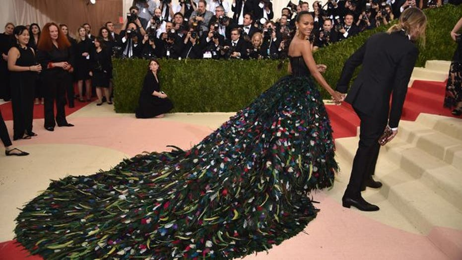 Met Gala 2016: Metallics reign in tech-inspired red carpet