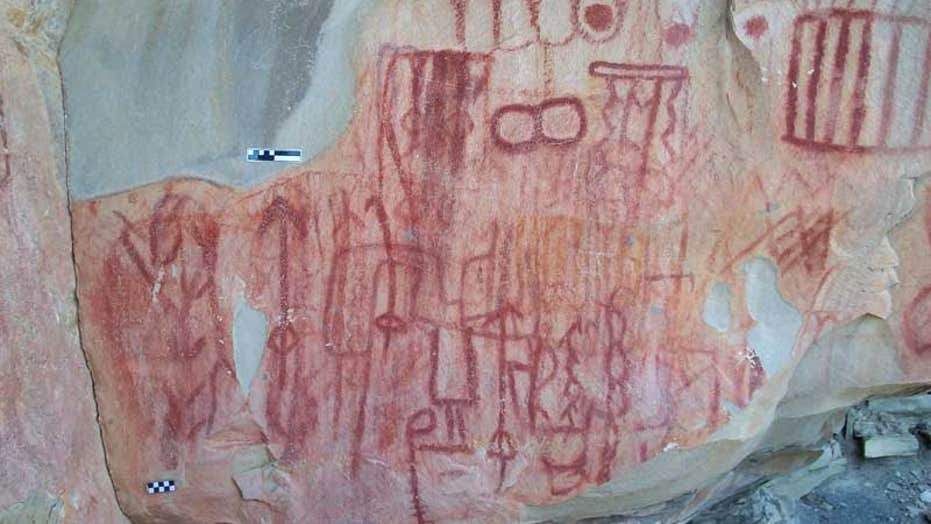 Thousands Of Cave Paintings Discovered In Mexico