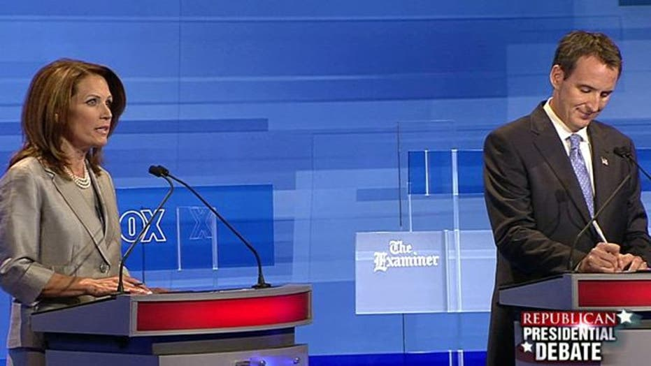 GOP Presidential Primary Debate in Iowa