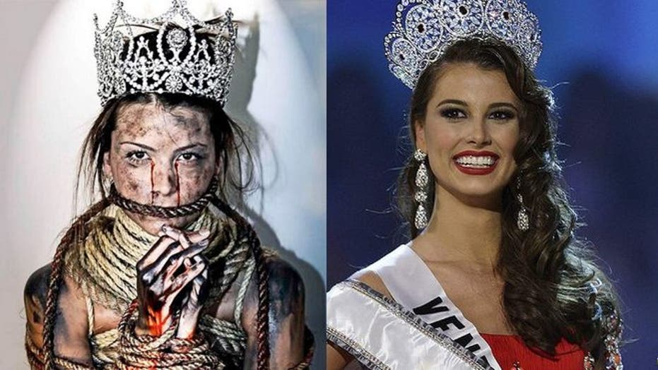 Miss Universe 'Gagged In Venezuela'