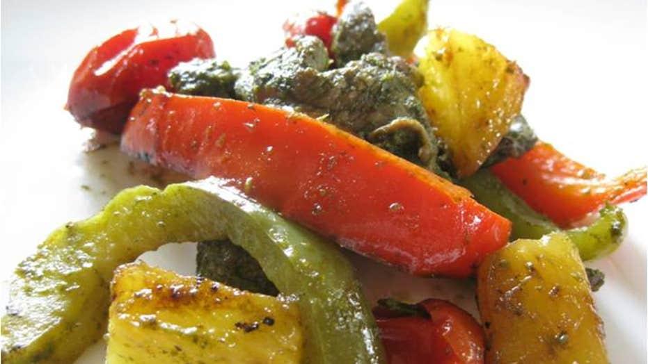 Recipe: Pepper Steak with Chimichurri Sauce