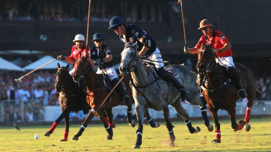 Felipe Viana and U.S. polo team put on a show in Chile, but fall short in final