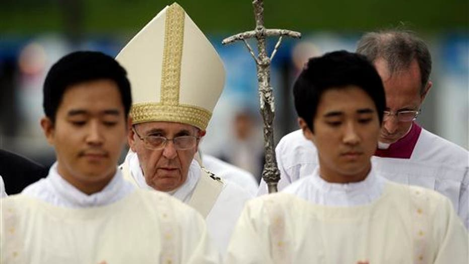 Pope Francis Makes A Trip To Asia
