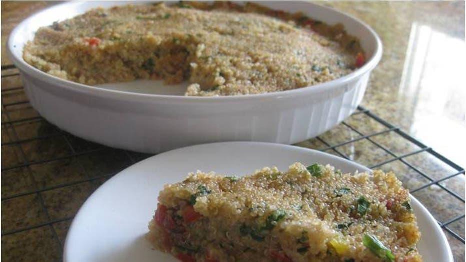 Recipe: Quinoa Quiche con Sabor Latino