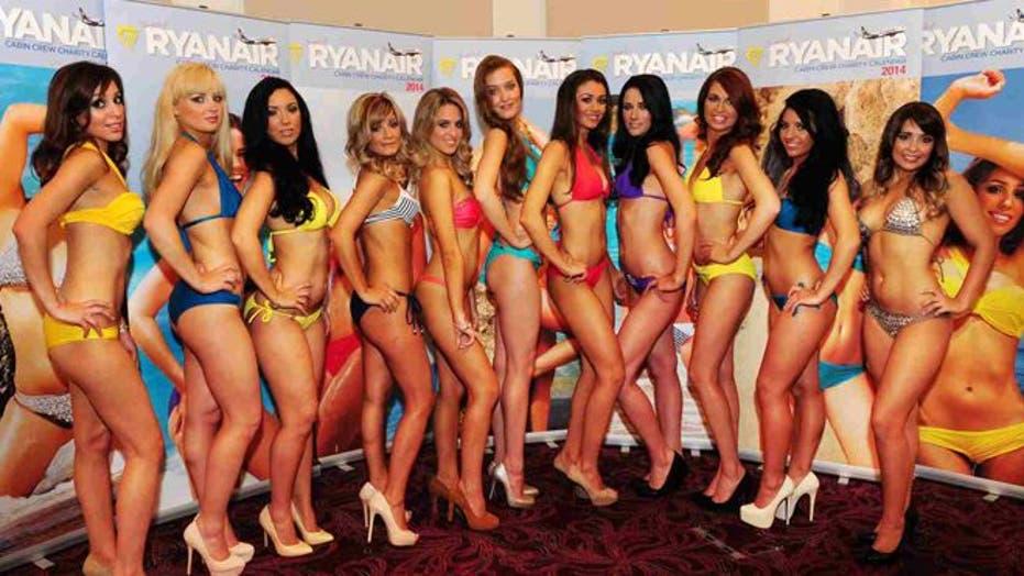 Bikini Bearing Flight Attendants Release Calendar