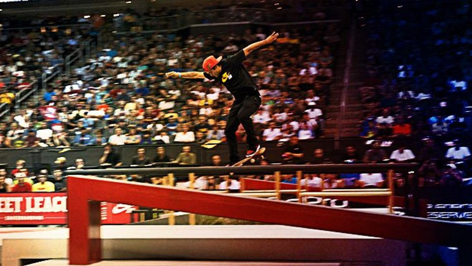 Paul Rodriguez & Other Top Skaters Take On The Nike Street League