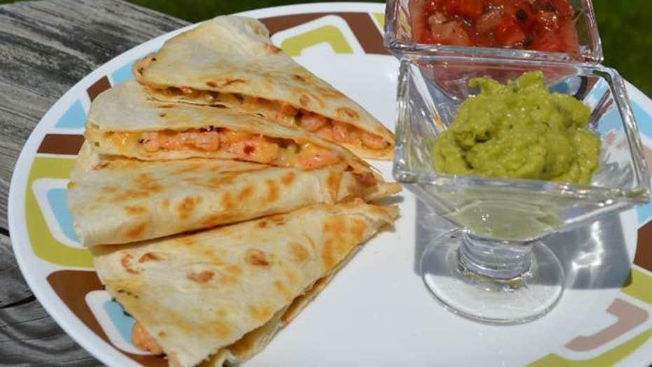 Cinco de Mayo recipe: Shrimp scampi quesadillas