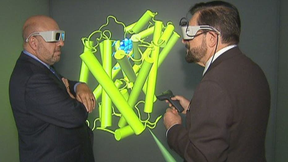Touring the Body in 3-D