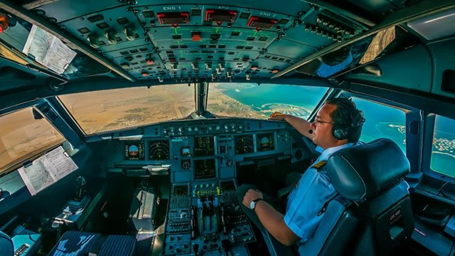 Pilot snaps stunning shots from cockpit