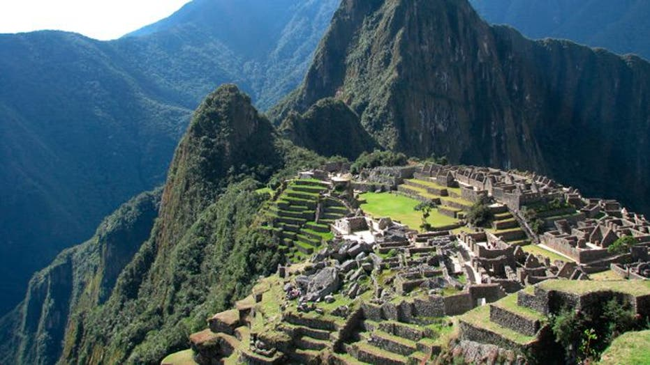 Machu Picchu takes hikers through sacred Inca peaks