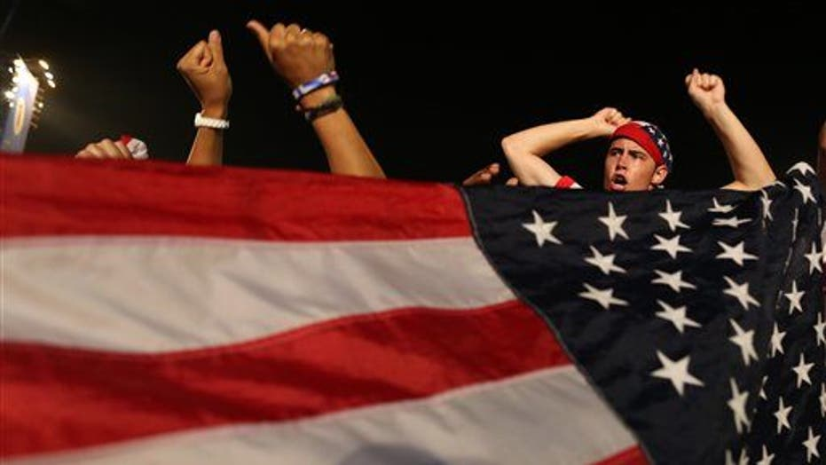 Americans Celebrate In Brazil After U.S. Beats Ghana During World Cup Match
