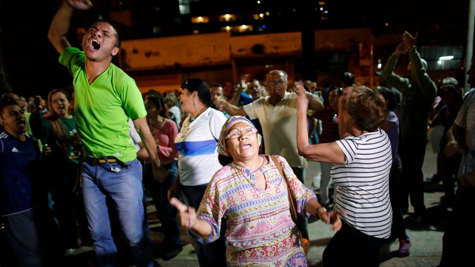 Venezuela's opposition celebrates landslide win in historic election