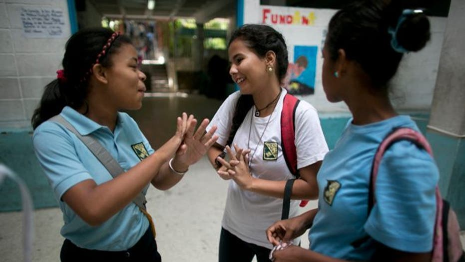 Venezuelan students struggle to learn amid food shortages and violence