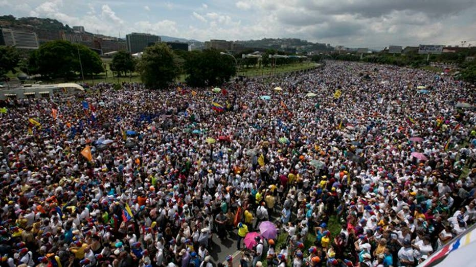 Venezuela rocked once again by widespread anti-government protests