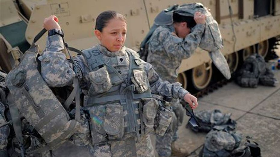 The Right Stuff For War: Military Give Women A Taste Of Combat