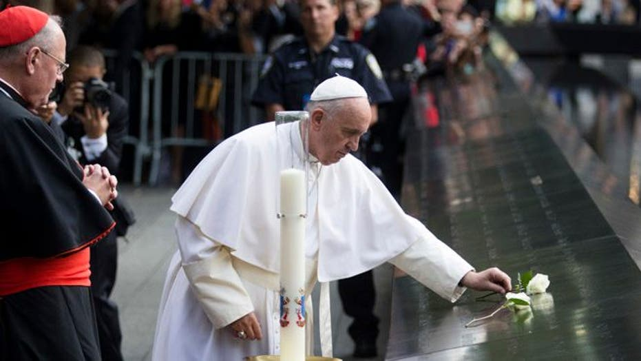 Pope Francis is here! Images of the pontiff's first-ever visit to the U.S.