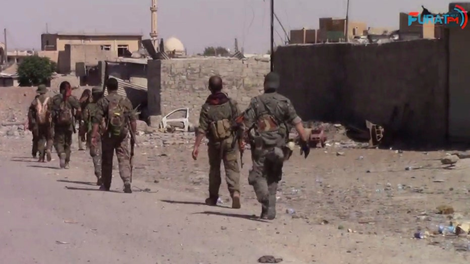 Militias fire rockets at US forces in Syria following airstrikes