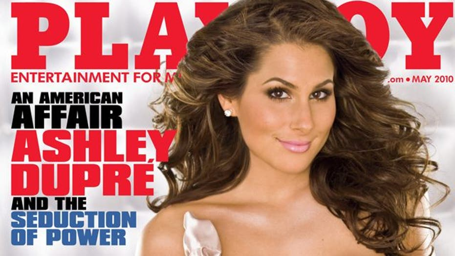 Ashley Dupre Gets Her Playboy Moment