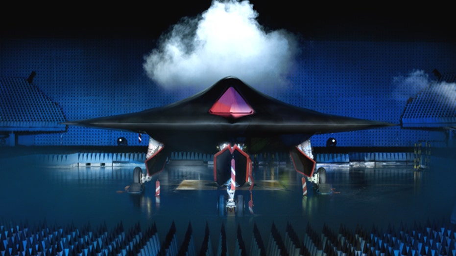 First Unmanned Stealth Fighter Unveiled