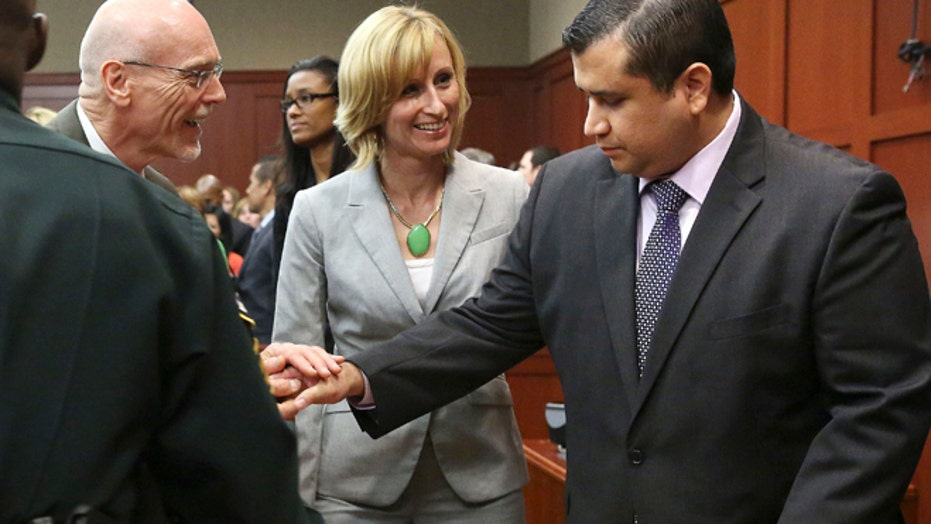 Zimmerman Trial's Most Dramatic Images