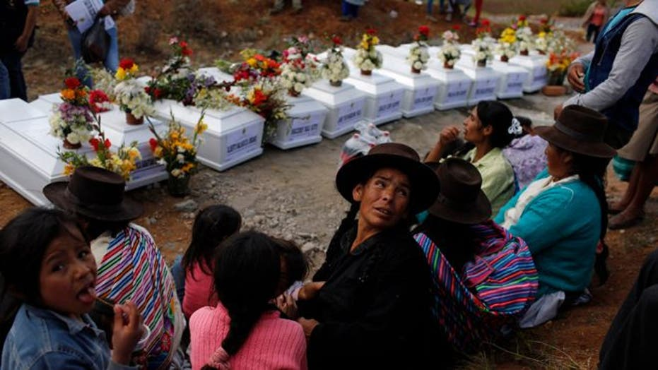 Victims of 1992 massacre in Peru finally put to rest
