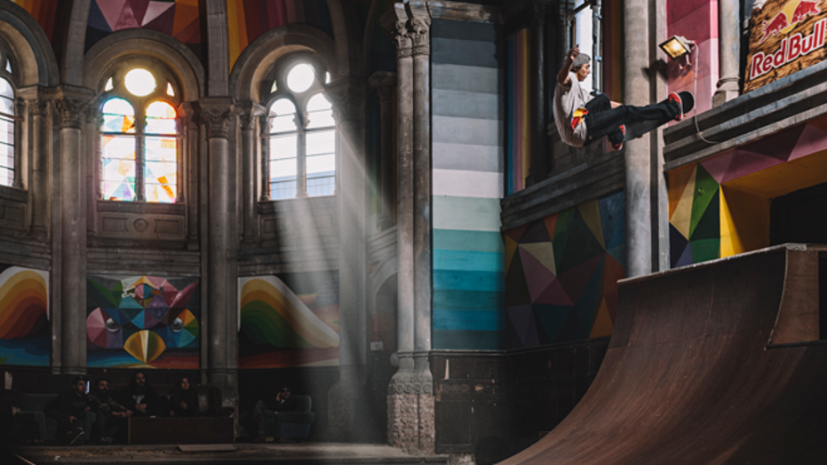 Spanish church transformed into the 'Sistine Chapel' of skateboarding