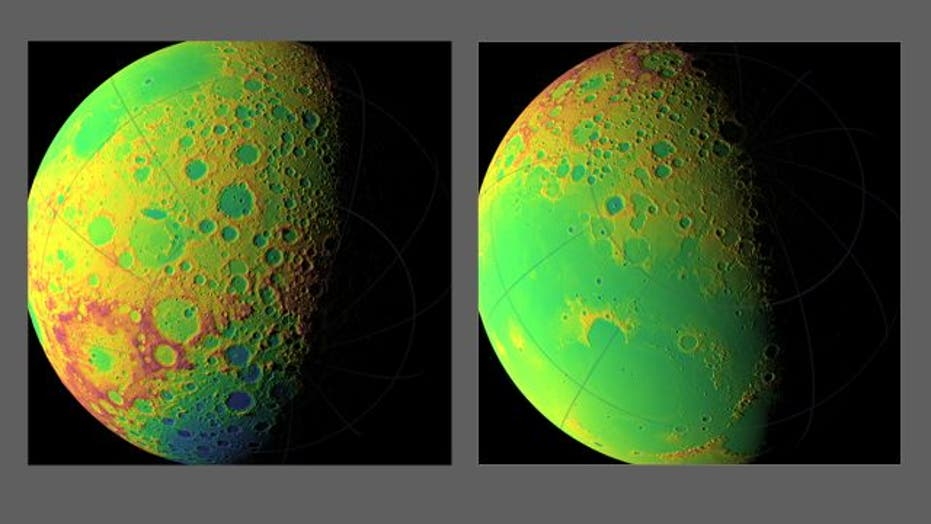 NASA Finishes First Map of Moon's Craters