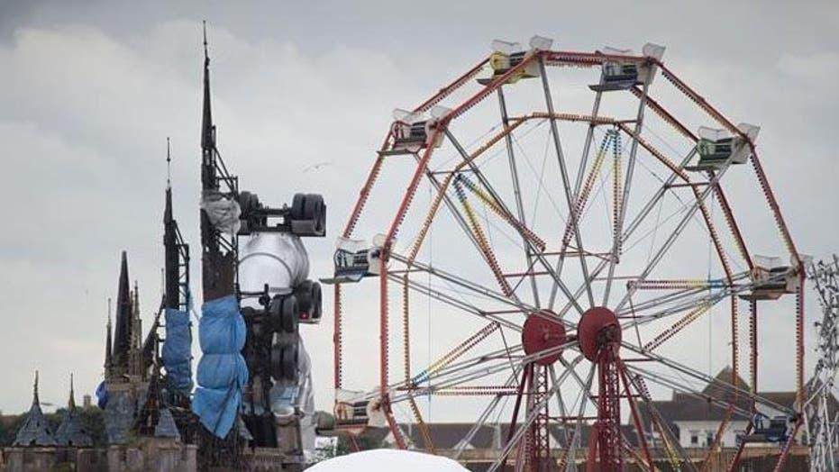 Inside Banksy's 'Dismaland' bemusement park