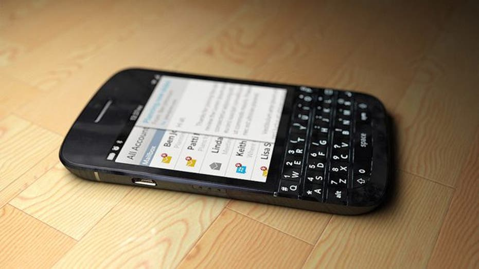 Will the new Blackberry phones look like this?