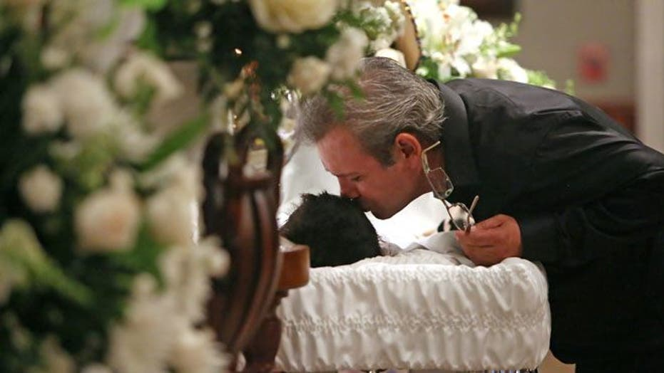 Hundreds of mourners pack funeral of 11-year-old boy stabbed in Texas