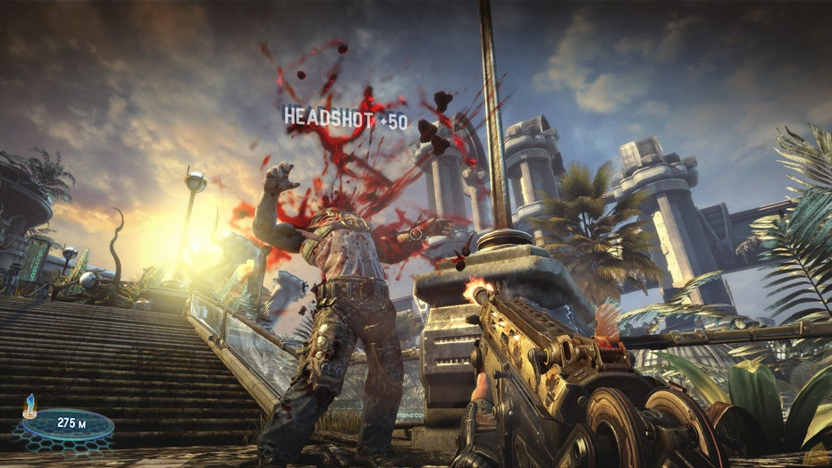 The business of blood: 11 violent video games